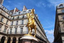 Golden Statue Of Joan Of Arc O...