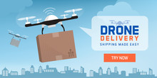 Drone Delivery In The City