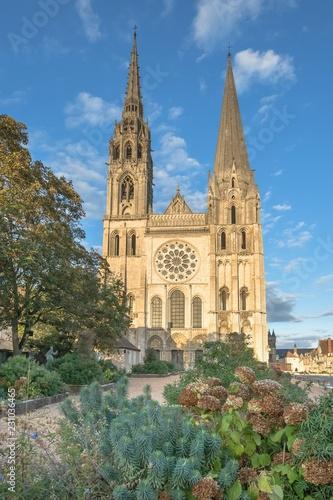 Fotografia  Cathédrale Notre-Dame de Chartres