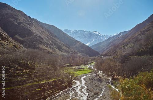 Fotografía  Hiking in mountains of Morroco, High Atlas,