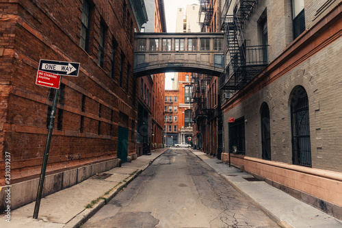 Staple street in New york city