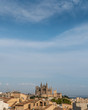 View at the old town in Palma de Mallorca