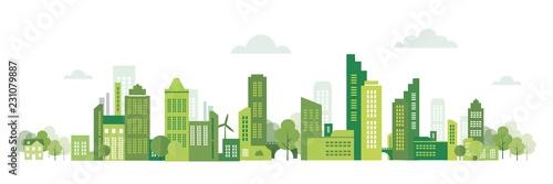Poster Blanc écologie