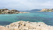 Beautiful views of the landscapes and beautiful coves located in Sardinia, Italy