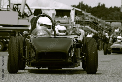 Photo sur Aluminium Motorise Vintage Motorsport Rennen