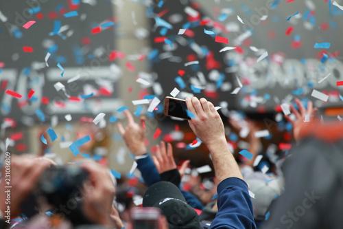 Red Sox 2018 World Series Champions Parade Canvas Print