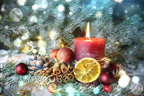 adventskerze rot erster advent 1 advent kaufen sie. Black Bedroom Furniture Sets. Home Design Ideas