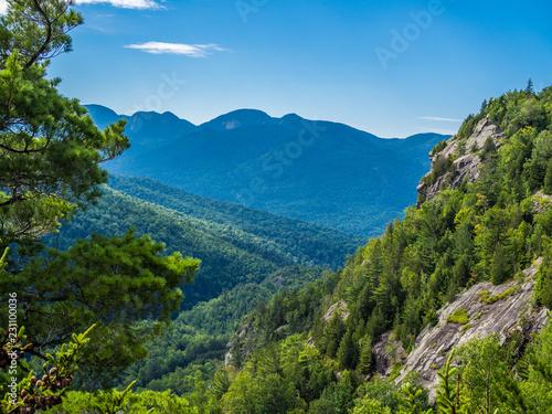 View at Adirondack High Peaks Canvas Print