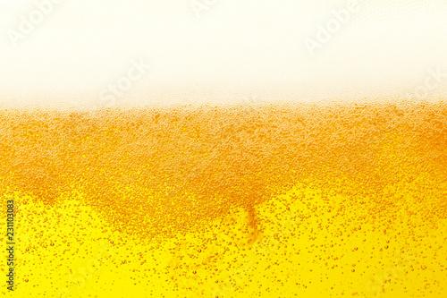 Pinturas sobre lienzo  ビールのクローズアップ