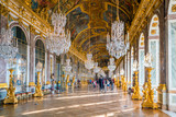 Fototapeta Fototapety Paryż - The hall of mirrors in Palace of Versailles