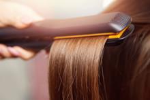 Hair Iron Straightening Beauty...