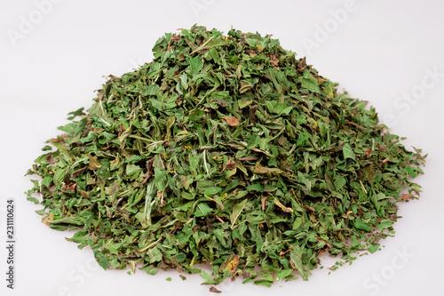Fotografie, Tablou a bunch of dried mint