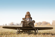 Portrait Of The Young Aviator ...