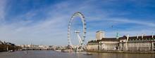 London Eye Ferris Wheel In London