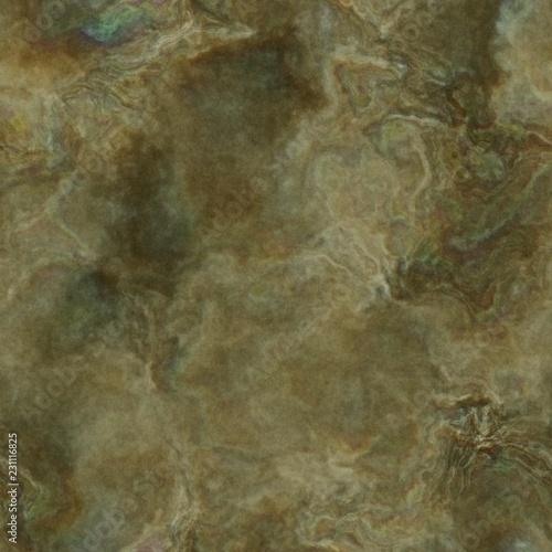 Fantasy planet terrain seamless texture or background illustration Canvas Print
