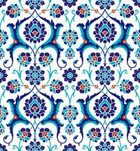 Traditional Turkish – Ottoman Seamless Pattern