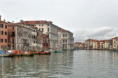 Foto op Plexiglas Venetie The famous canals of Venice.