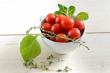 Fototapeta cherry tomatoes