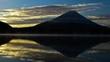 精進湖の朝と富士山・タイムラプス撮影
