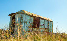 Old Rusty Van, Camper, Thrown ...