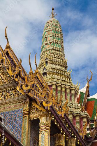 Foto  Prang of the Royal Pantheon at Wat Phra Kaew