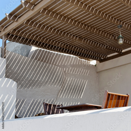 terrasse ombragée - Buy this stock photo and explore similar images ...