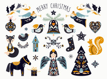 Christmas Graphic Elements Col...