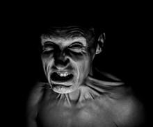 Stylish Dark Portrait Of Feare...