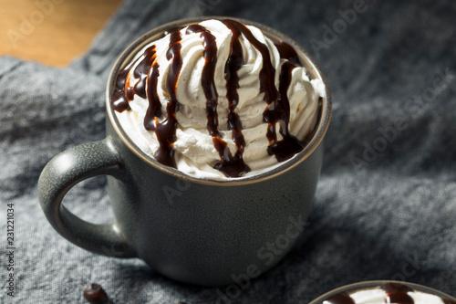 Fototapeta Wamr Mocha Iced Coffee