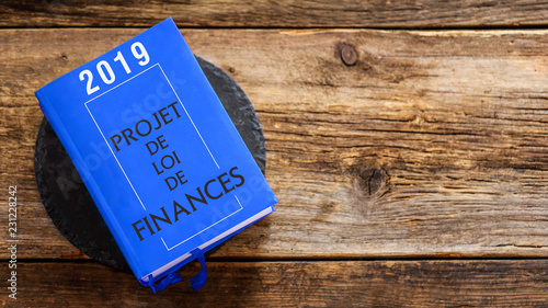 Photo Projet de loi de finances 2019