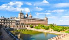 El Escorial Palace, Madrid Suburbs, Spain
