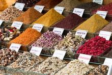 Turkish Spice Store. Winter Tea, Senna Tea, Antibiotic Tea, Jasmin Tea, Dry Vegetables, Pepper Spice.