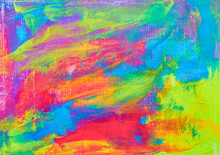 Fluid Art. Abstract Colorful Background, Wallpaper. Mixing  Paints. Modern Art. Marble Texture