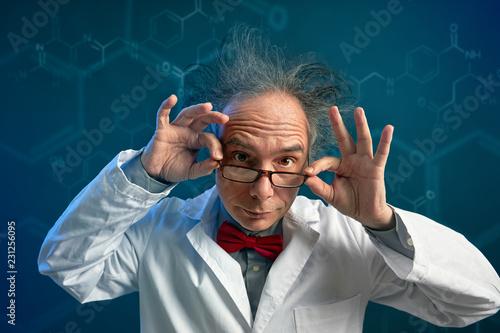 Carta da parati crazy chemist