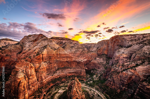 Angels Landing at Dawn Wallpaper Mural