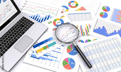 Cuadros en Lienzo ビジネス資料をルーペで検索する