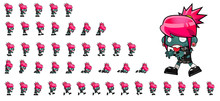 Zombie Game Character Sprites