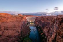 Glen Canyon Dam Scenic Area At...