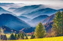 Scenic Mountain Landscape. Vie...