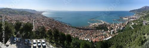 Photo Panorama di Salerno, landscape