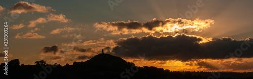 Fényképezés Glastonbury Tor at Dawn