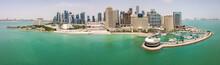 The Skyline Of Doha, Qatar. Mo...