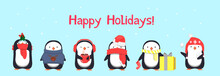 Happy Holidays Greeting Card W...