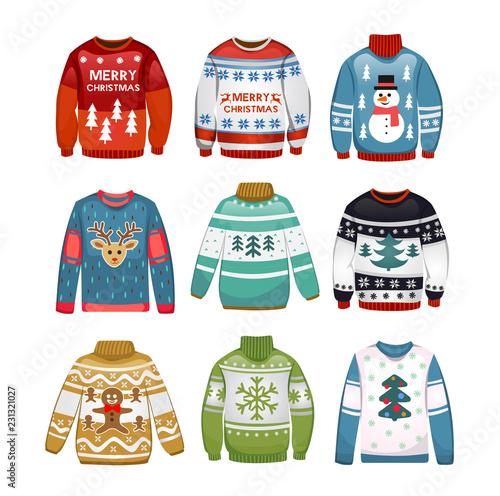 Photo Ugly sweaters set