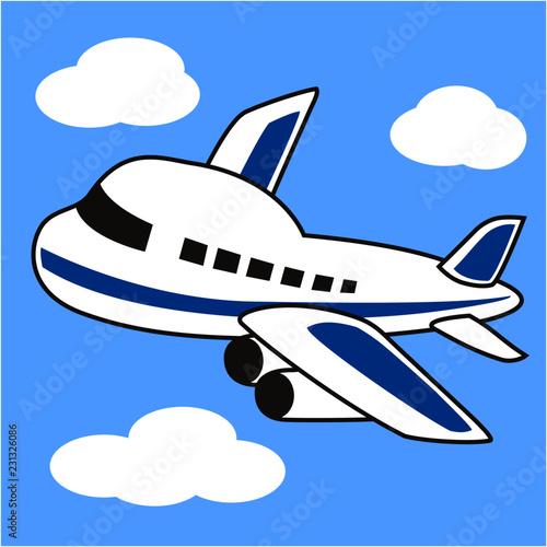 かわいい飛行機のイラスト Buy This Stock Vector And Explore Similar