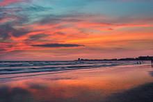 Sunset At Siesta Key Beach, Gu...