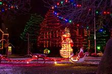 A Village Christmas Display Wi...