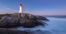 Peggy Cove Lighthouse After Su...