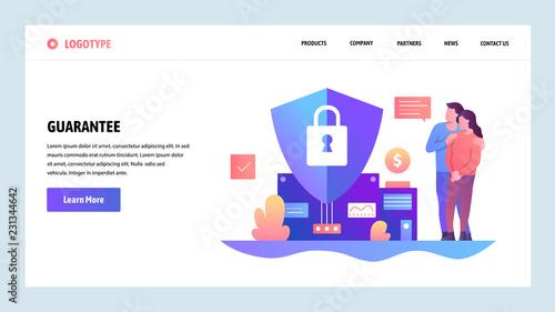 Cuadros en Lienzo Vector web site design template