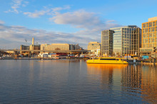The Wharf And Buildings At The...